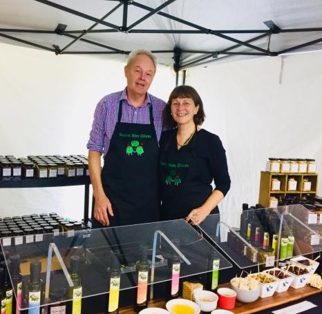 Scenic Rim Olives with Glynn & Barbara Kelly
